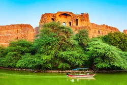 Purana Qila Fort is one of the oldest forts in Delhi city in India