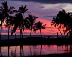 Pure Hawaiian Sunset