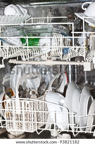 Pure ware in the dishwasher