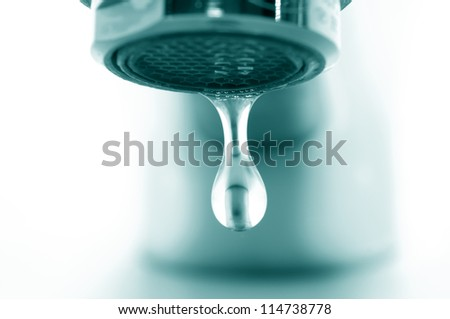Pure water drop
