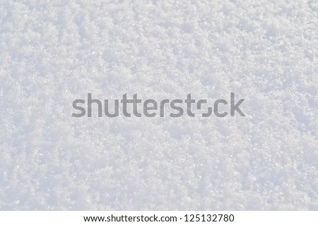 pure white snow, texture