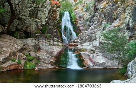 Photo of  Purgatory waterfall in Madrid mountains