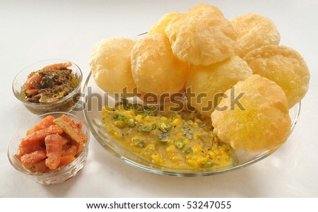 Puri Breakfast