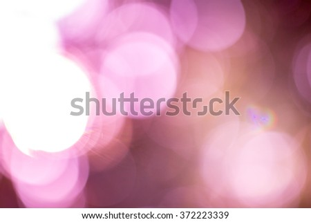 Purple abstract with lights bokeh #372223339