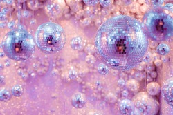Purple and Pink cluster of Mirrorballs