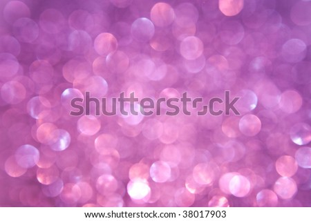 Purple and Pink Sparkling Lights