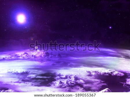 Purple Atmosphere -