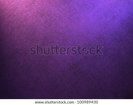 purple background or blue background with royal purple color and vintage grunge background texture, purple paper has black background on bottom border with corner lighting