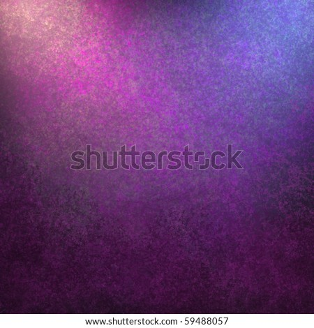 Purple background with lighting and texture and blank copy space