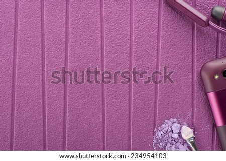 purple background with purple objects