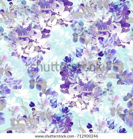 Purple Blossom Repeat