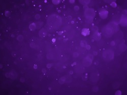 Purple bokeh abstract background caused.