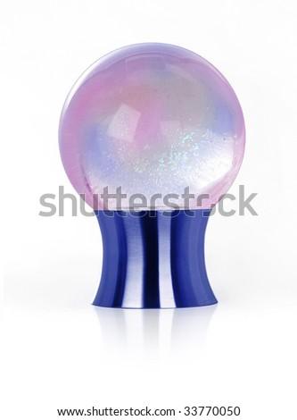 Purple Crystal Ball