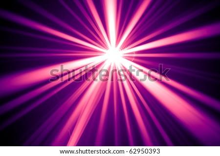 purple disco rays