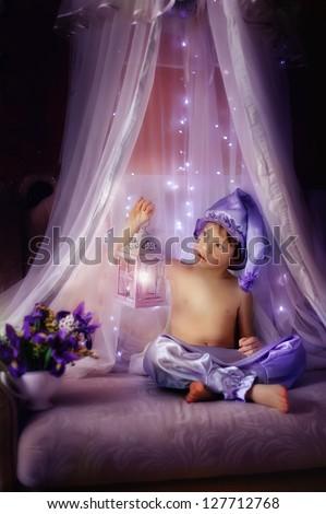 purple dreams - stock photo