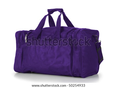 Purple Duffel Bag