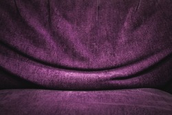 Purple fabric texture background, Fabric background.