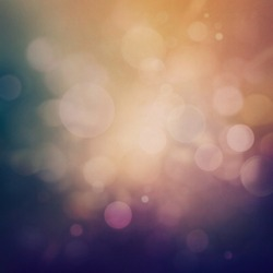 Purple Festive Christmas background. Elegant abstract background with bokeh defocused lights and stars
