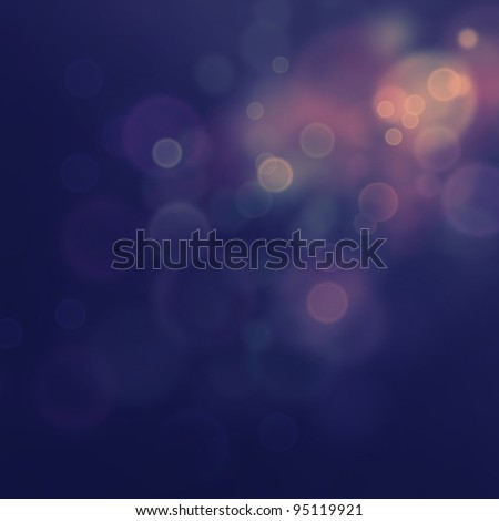 Purple Festive Christmas  elegant  abstract background with  bokeh lights and stars