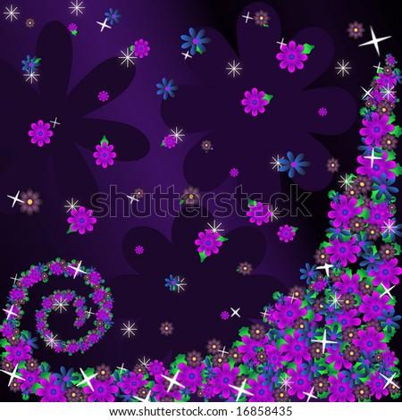 purple flower wallpaper. purple flower wallpaper.