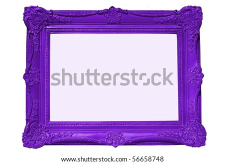 Purple Frame, blank for your copy