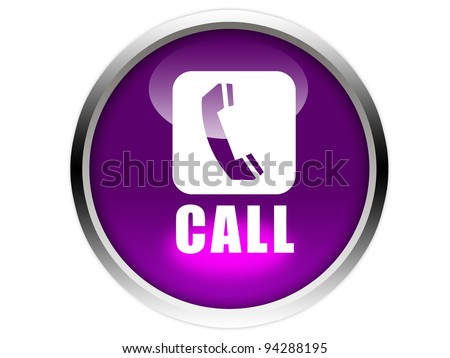 purple glossy button with white phone icon and call word isolated over white background stock. Black Bedroom Furniture Sets. Home Design Ideas