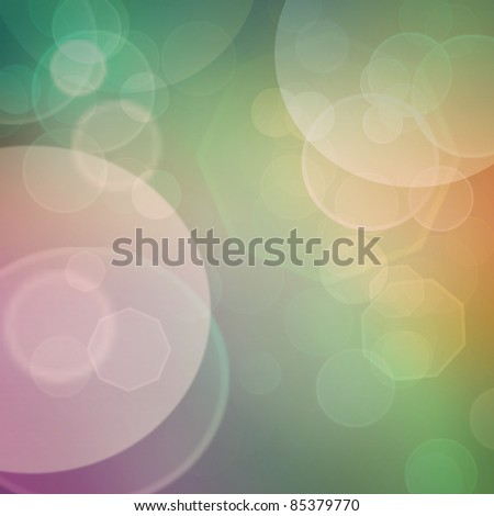 Purple, green, blue pastel colorful background. bokeh  blurred lights background