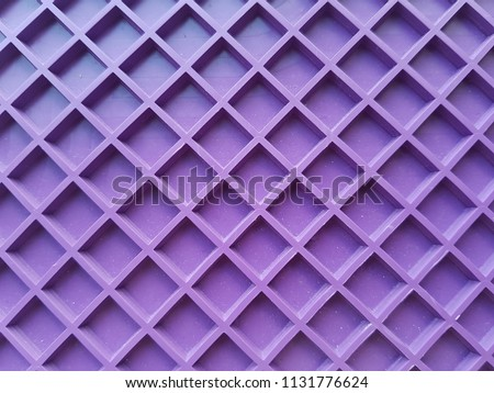 purple grid, lines in the form of a square. Pattern background, texture. #1131776624