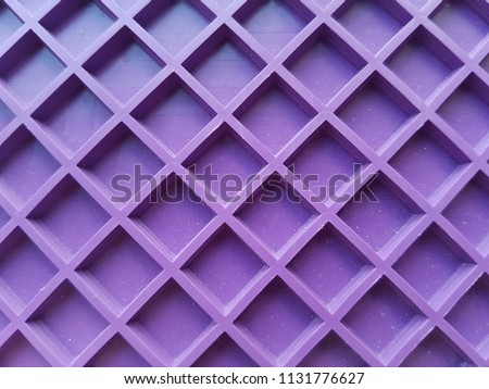 purple grid, lines in the form of a square. Pattern background, texture. #1131776627