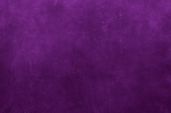 Purple grungy wall backdrop or texture