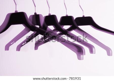 Purple Hangers
