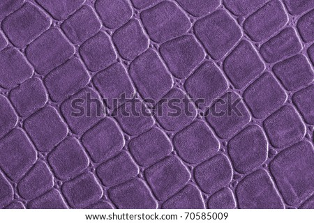 Purple leather,gridded pattern