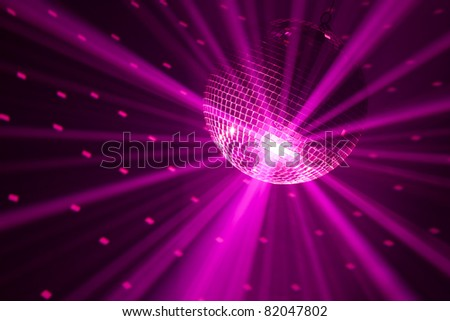 purple party lights background