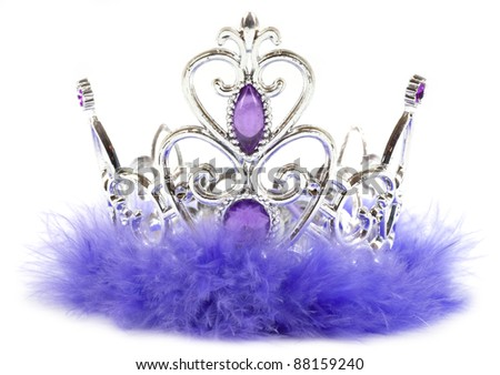 Purple Princess Crown Clipart Purple Princess Crown Isolated
