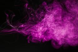 Purple smoke background
