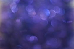 Purple snowflakes background