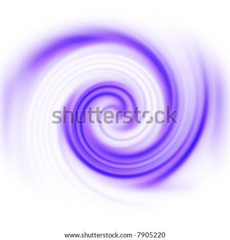 Purple spinning computer generated vortex for an abstract background