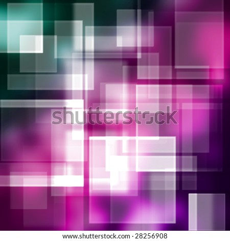 purple square background