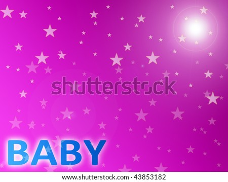 background with Baby word. Empty to insert text or design. baby shower ...