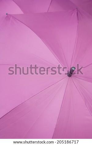 purple umbrellas as decoration object