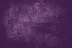 Purple wall grungy background or texture