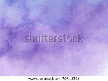 Purple watercolor background - abstract texture