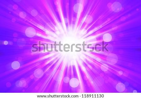 purplel bokeh light background