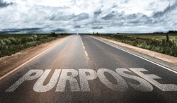 Purpose written on rural road