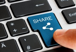 push the share button on keyboard - with share symbol on it