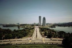 Putrajaya, Central Axis of Putrajaya Viewed from PICC