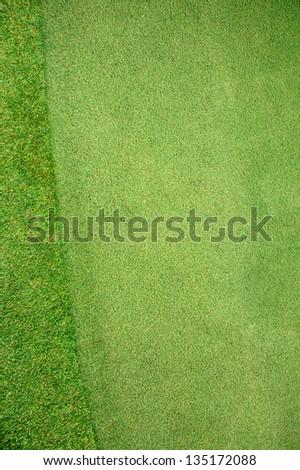 Putting Green - stock photo