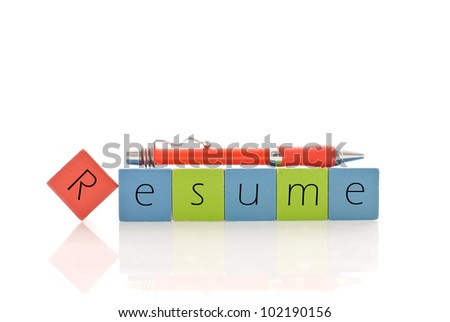 Putting Together Your Resume