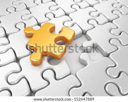Puzzle 3D Icons