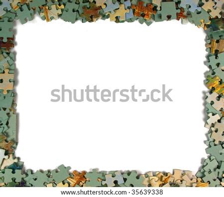 Puzzle Piece Frames Puzzle Pieces Frame